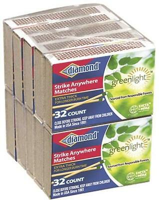 Diamond Strike Anywhere Matches 10 Packs Of 32 Matches Each 320 Total New