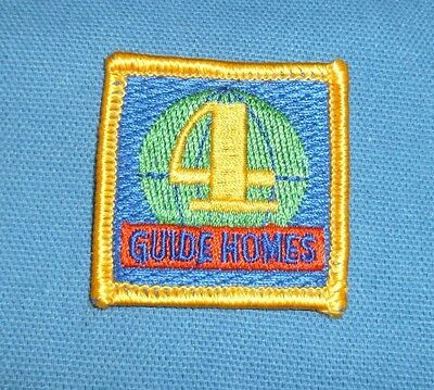 Girl Guide Badge from Friends of 4 World Centres