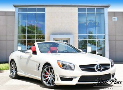2013 Mercedes-Benz SL-Class  2013 Convertible Used Turbocharged Gas V8 5.5L/333 7-Speed Automatic RWD White