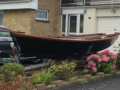 16 ft wooden day boat
