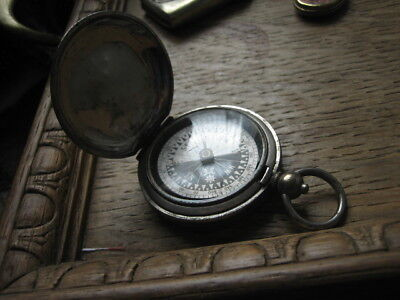 compass WW1 hunter type floating singer compass working pocket watch style