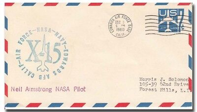 X-15 Neil Armstrong launch cover EAFB 9.12.1960 RARE - 8f115
