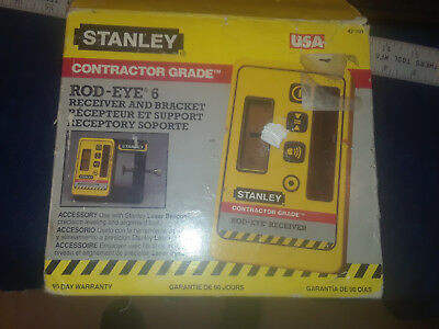Stanley Rod-Eye 6  laser receiver and bracket used