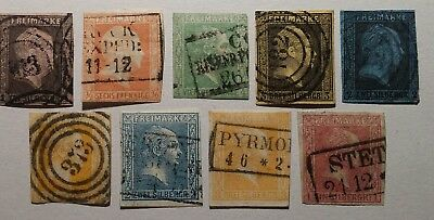 German states Prussia classics used. €500. Sound. See photos for margins