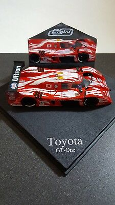 PROSLOT TOYOTA GT-ONE #27 PS1020 SCALE 1:32 (Used but great condition)