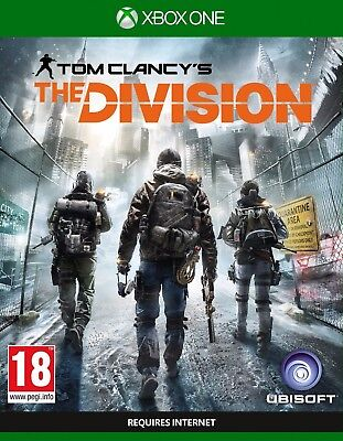 Tom Clancy's The Division Xbox One download account