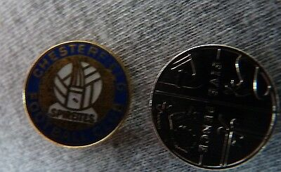Chesterfield Football Club Crest Badge.  Free Postage.