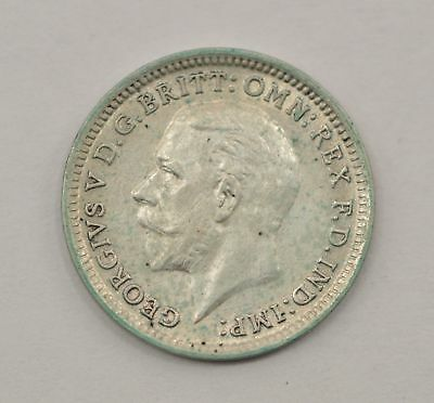 1926 Great Britain 3 Pence Silver Foreign Coin *Q45