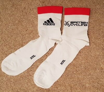 GB Cycling Socks Team Sky Adidas British Cycling XX Large XXL
