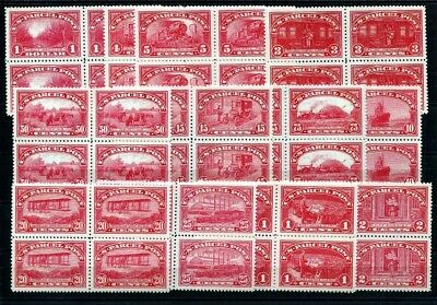 Parcel Post Stamps  1913.  USA  Postage stamps