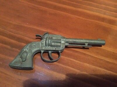 Vintage Toy Junior Texan Metal Gun