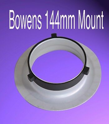 Photographic Bowens Speed Ring Speedring adapter for Beauty Dish or Snoot