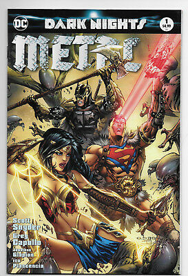 Dc Dark Nights Metal 1 Most Good Hobby Eric Basaldua Exclusive Cover Color