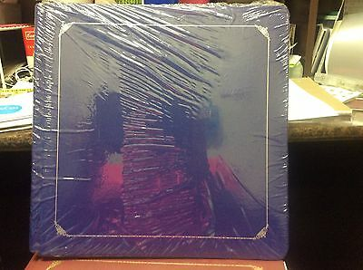 Creative Memories 12x12 Sapphire Blue Album w/ Pages Silver Trim Old Style Royal