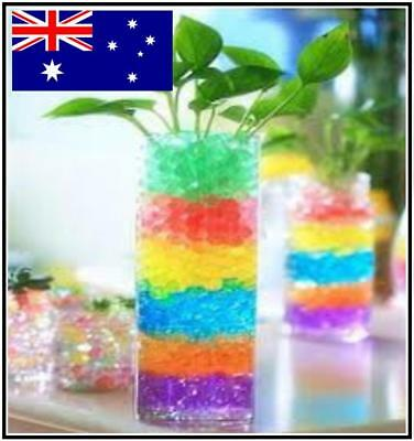 Magic Crystal Soil Water Beads Orbeez 10g, 25g, 50g MAKES 5+ LITRES!!