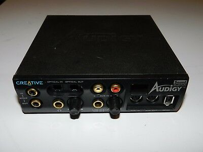 Creative Labs Audigy Sound Blaster Front Panel Model: Sb0110