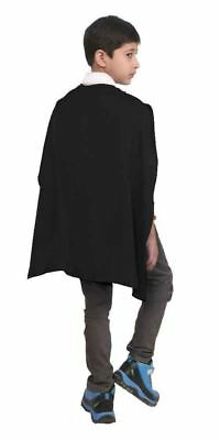 Boys Halloween Superhero Fancy Dress Cape Costume Outfit