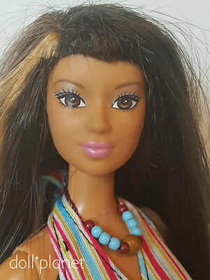 Cali Girl LEA - Beautiful Collectible Barbie doll - dressed tanned surfer beach
