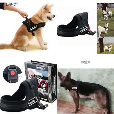 No Pull Harness Dog Lead Padded Pet Walking Harness for German Shepherd 70-90 cm
