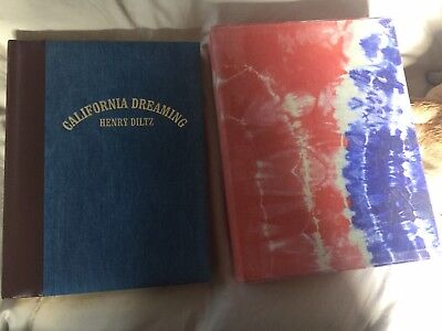 Henry Diltz California Dreaming Book signed copy perfect condition with cover