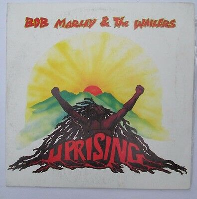 Bob Marley and the Wailers Uprising Tuff Gong 1980 Vinyl Record Album LP Reggae
