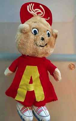 🔥🔥 Alvin The Chipmunk Plush Toy 💜💜💜 (ORIGINAL & EXTREMELY RARE COLLECTABLE)