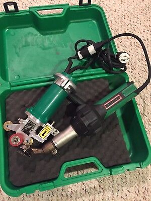 Leister Triac ST & Leister Drive Unit W/Case