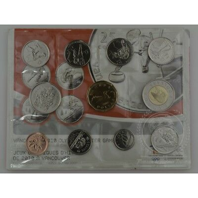 2007 Proof Like set Olympic Special Edition - Canada