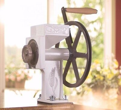 Country Living Grain Mill Grinder, GLUTEN FREE, corn & bean auger, Free shipping
