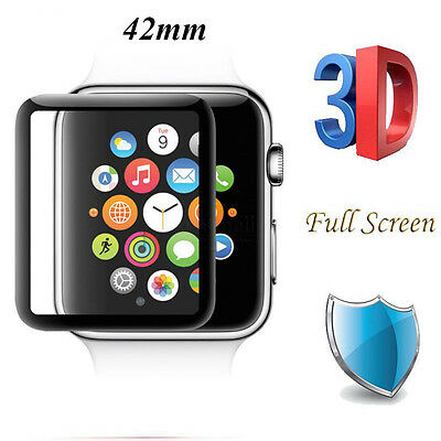 For iWatch Plating Tempered Glass For Apple Watch 42mm Series 2 & 1