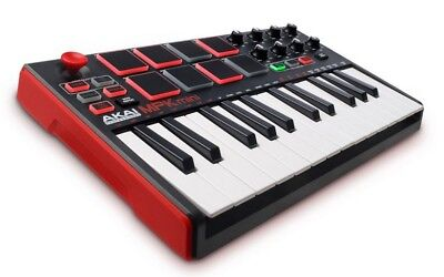 AKAI MPK Mini MK2 Keyboard USB Controller Synthesizer in original Box Retail $99