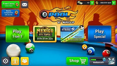 8 Ball Pool 10 MILLION COINS FAST DELIVERY