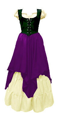 Renaissance Peasant Wench Pirate Faire 3 Piece Wench Costume L/XL  SALE!!