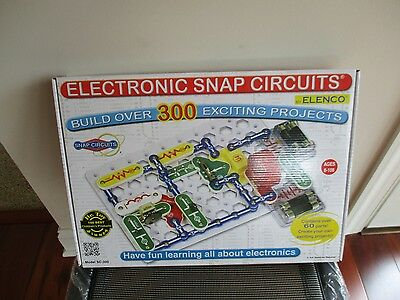 BNIB Electronic Snap Circuits by Elenco, Model SC-300, build over 300 projects