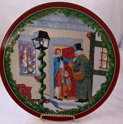 Department 56 Dickens Village Plate Heritage Village Collection
