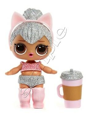 Iron on Transfer LOL SURPRISE KITTY QUEEN doll dolls   11X14CM glitter look