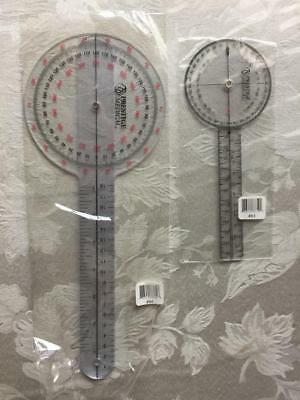 Prestige Medical Protractor Goniometer Set- 12 inch & 6 inch ie:Physical Therapy