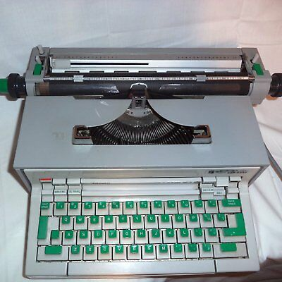 Typewriter OLIVETTI PRAXIS 48 Electric by Olivetti Canada For Parts or Display