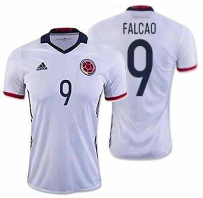 225472ca4 ADIDAS JAMES RODRIGUEZ Colombia Home Jersey Copa America 2016 ...