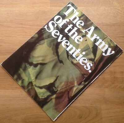 """Original 1974 British Army Recruiting Brochure: """"the Army Of The Seventies"""""""