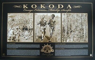 ANZAC - Kokoda Vietnam War Limited Edition Lest We Forget Print - RSL Endorsed