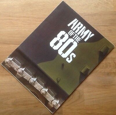 "ORIGINAL 1980 BRITISH ARMY RECRUITING BROCHURE: ""ARMY OF THE 80s"""