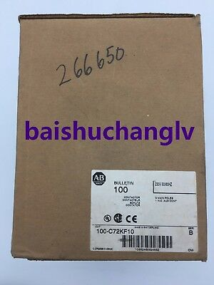 *Ship Today* 1PC New In Box Rockwell 100-C72KF10 AC contactor