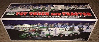 2013 HESS Toy Truck and Tractor New In Box Unopened Never Played With