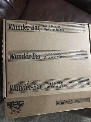 Wunderbar Soda Gun Water Juice Fountain NEW IN BOX