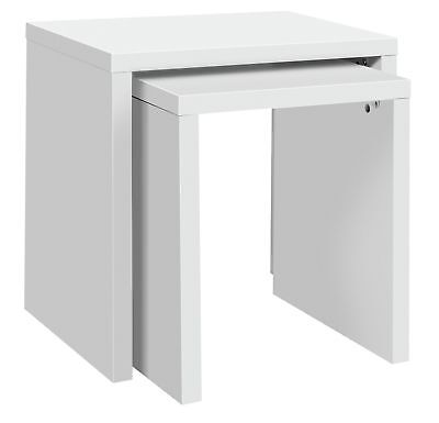 HOME Oscar Nest of 2 Tables - White. From the Official Argos Shop on eba V101089
