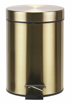 Collection 3 Litre Pedal Bin - Gold From the Official Argos Shop on ebay