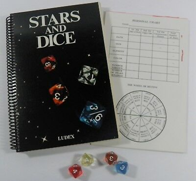 Stars And Dice The Book Of Destiny Game Ludex (1987) Astrology Numerology