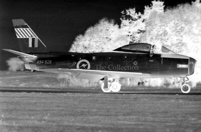 North American CA-27 Sabre A94-928 original 35mm photo negative
