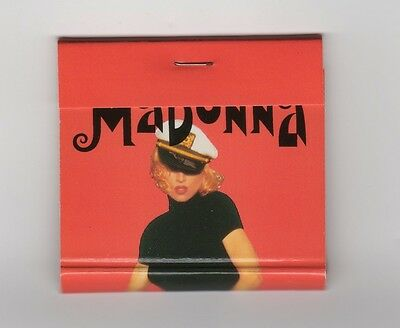 Madonna The Girlie Show 1993 Official Tour Match Never Used New!